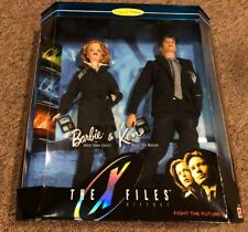 BARBIE RETIRED MIB THE X FILES BARBIE AND KEN COLLECTOR EDITION MULDER & SCULLY