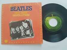 "THE BEATLES HEY JUDE / REVOLUTION French 1976 7"" vinyl FRANCE"