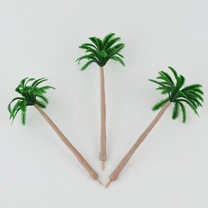 "Palm Tree Cake Topper Scenery (Set Of 3) 4"" Cake Decoration"