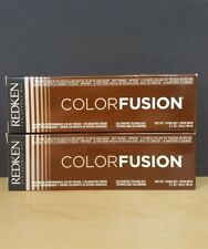 Two Redken Colorfusion Permanent Haircolor 6N 2.1oz each tube