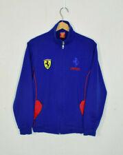 Vintage Ferrari Blue Track Jacket Medium