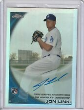 JON LINK RC AUTO REFRACTOR #/499 2010 TOPPS CHROME AUTOGRAPH DODGERS