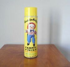 1968 RARE RAGGEDY ANDY SPRAY STARCH FABRIC FINISH 20 OZ CAN NEVER USED
