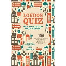 London Quiz,Rennison, Nick, Elborough, Travis,New Book mon0000040040
