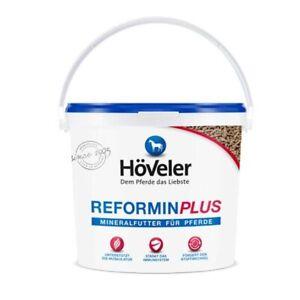 Höveler Reformin Plus 10kg Mineral Futter Mineralfutter Pellets Pferde (2,98€/1k