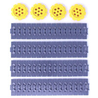 Lego Genuine Technic Caterpillar Tracks 60x Link 4x Wheel Digger Excavator - NEW