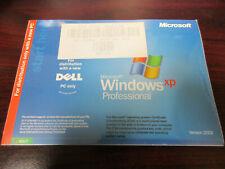 Mircosoft Windows XP Pro SP2 Version 2002 CD Dell P/N 0G7624 X08-48124 BRAND NEW