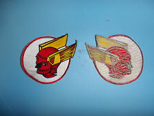 b4487 WW 2 US Army Air Force 327th Fighter Squadron Patch 328th Fiighter Group