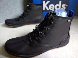 NIB $70. MSRP, Women's Keds Scout Splash Ortholite Weatherized Boots  # WF57265