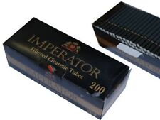 1 Box Imperator Black Cigarette Filter Tubes 200