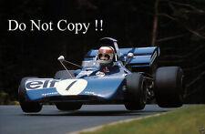 Jackie Stewart Tyrell 003 German Grand Prix 1972 Photograph