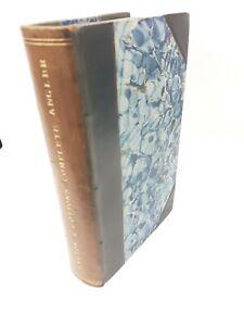 1823 First Major THE COMPLETE ANGLER Izaak Isaac Walton Antique book.