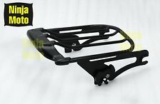 Detachable Two-Up Air Wing Luggage Rack for Harley HD Touring Models 2009-2016