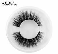 SHIDI SHANGPIN Mink Eyelashes Natural Long 3D False Lashes Reusable Faux Cils