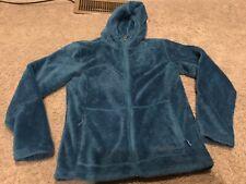 Marmot Medium Blue Fleece Coat