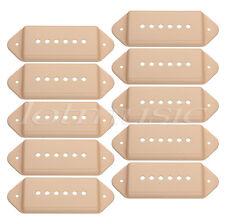 10pcs Yellow P 90 Dogear Guitar Pickup Covers Bridge Polepiece Spacing 52mm