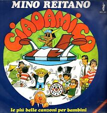 """MINO REITANO - Ciao Amico 1981 (Vinile=NM) LP 12"""" RARO"""