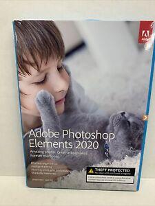Adobe Photoshop Elements 2020 Windows PC Mac Disc DVD Version New Sealed