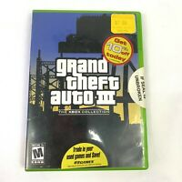 Xbox Game - Grand Theft Auto III Collection GTA - Complete Map Manual