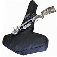 COPTEX Armbrust Transporttasche gepolstert Nylontasche m. Reißverschluss schwarz