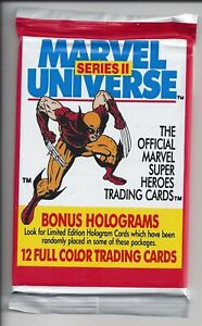 1991 IMPEL Marvel Universe Cards - 2nd Series - ONE Sealed Pack - WOLVERINE