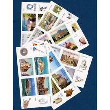 LOT DE 24 TIMBRES-AUTOADHESIFS VALIDITES PERMANENTES PRIORITAIRES 20G, CHATEAUX