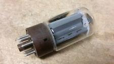 Test Good Sylvania 6L6Wgb 5881 f/ Old Vintage Ham Radio Tube Power Audio Amp