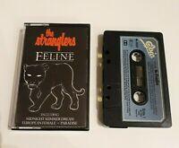 THE STRANGLERS FELINE CASSETTE TAPE 1982 BLUE PAPER LABEL EPIC CBS UK