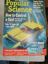 POPULAR SCIENCE - Mar. 1964 - HOW TO CONTROL A SKID - COLOR TV FROM A KIT