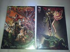 Lot de deux comics Neverland n°0 et 1 (Zenescope)