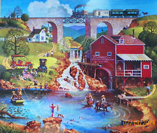 .PUZZLE.....JIGSAW.....PETTES.......Labor Day......550pc..