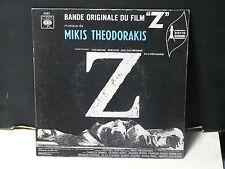 "BO Film OST "" Z "" MIKIS THEODORAKIS cbs 4082"