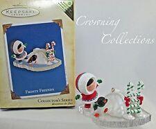 2004 Hallmark Frosty Friends Repaint Colorway Keepsake Ornament Register to Win
