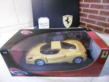 """1/18 """"Gt Jaune"""" Ferrari ENZO 100 % Hot Wheels"""