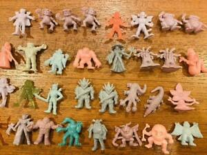 NECLOS FORTRESS keshi figure monster rubber doll set  32pcs