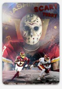 Scary Terry McLaurin MAGNET -Washington Football Team Redskins NFL Logo beast