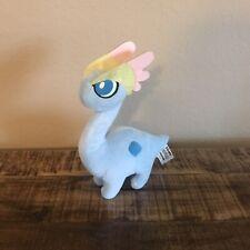 """POKEMON Blue Plush Stuffed Amaura XY AMAURA Tomy 8"""" Toy EUC"""