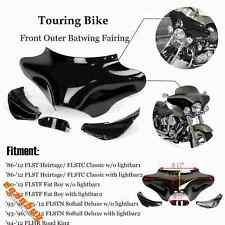 Motorcycle Front Batwing Fairing For Harley Softail Fat Boy FLSTF Deluxe FLSTN