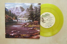 "THE BEACH BOYS Cabin Essence / Wonderful UK yellow vinyl 7"" in picture sleeve"