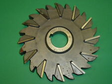 """NOS! NIAGARA HS STAGGERED SIDE TOOTH MILLING CUTTER, 6"""" x 5/8"""" x 1-1/4"""", USA"""