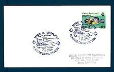 ITALIA REP. - 1978 - BUSTA -  170 L. - Salvag. del mare:cernia: PALERMO
