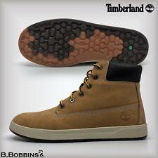"""🥾 Timberland® Wheat Nubuck 6"""" Davis Boots Size UK 3 3.5 Girls Boys Ladies"""