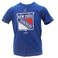 New York Rangers Kids Youth Size Official NHL Reebok T-Shirt New With Tags