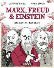 Marx, Freud, Einstein: Heroes of the Mind by Corrine Maier, NEW Book, FREE & FAS