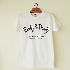 Bobby And Dandy Vintage Store Fruit of the Loom White Cotton Tee- Shirt Medium