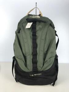 THE NORTH FACE  Grn Big Shot 61661  Green Fashion Back Pack 6830 From Japan