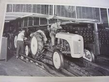 FORD TRACTOR  8N ASSEMBLY LINE  # 2 12 X 18 LARGE PICTURE   PHOTO