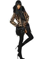 $21750 Authentic EMILIO PUCCI Animal Printed Calf Hair GOAT & FOX Coat 38 US-2/4