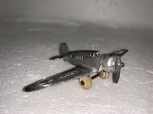 Vintage Barclay U.S. Army Die-Cast Toy Airplane Made in the USA Toy Plane