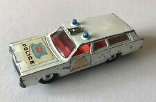 Lesney Matchbox King Size No K-23 Mercury Commuter police car 1969